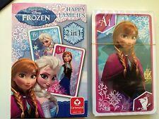 Nuovo di Zecca Morrisons Disney congelato famiglie felici carte da gioco. SIGILLATO