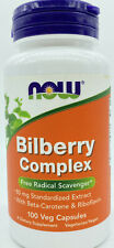 Bilberry Complex Now Foods 100 Capsules