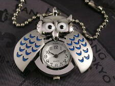 Owl Wing Pendant Watch with Necklace Gift Box WKA1211