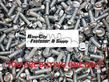 (1) M10-1.5 x 30 Hex Flange Bolts Grade 8.8 M10x30 DIN 6921 10mm x 30mm Screws