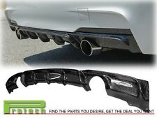 BMW 2012+ F30 M Sport Performance Sedan Wagon Carbon Fiber Bumper Diffuser
