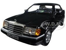 1990 MERCEDES 300 CE 24 CABRIOLET BLACK 1/18 DIECAST MODEL CAR BY NOREV 183566