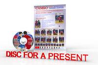 Posters SAMBO Wrestling.Sambo Wrestling technique 4.