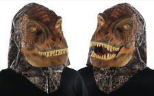 T-Rex Mask Head Animated Animal Sound For Adults Dinosaur Cool Moveable Mouth