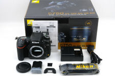 Nikon D750 24.3MP Digital Camera + BOX -Shutter count 628 !!- Mint (Ni-357)