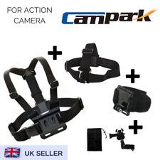 Set of 3 Chest Head Wrist Strap for Campark ACT76/ACT68/ACT74/X20 & itek 1080p