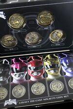 Legacy Diecast Ninjetti Power Morpher Coins Set Power Rangers Movie Mmpr Ninja