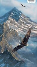 On Freedom's Wings Panel by Northcott-Eagles-Mountains-Snow