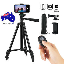 Professional Camera Tripod + Bluetooth Remote Control For iPhone Samsung Camera