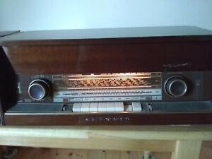 Vintage German Grundig 3299 Stereo Tube Radio