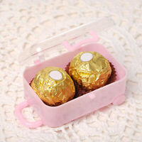 GI- Mini Rolling Travel Suitcase Candy Box Wedding Party Reception Gift Beamy