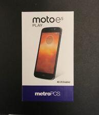 Moto E5 Play - 16 GB - MetroPCS - UNLOCKED