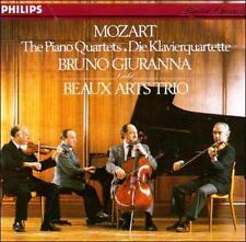 Mozart Piano Quartets 1 & 2 Bruno Giuranna Die Klavier Quartette Beaux Arts Trio