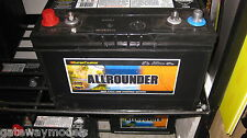 ALLROUNDER DEEP CYCLE & STARTING BATTERY 105 amp hour MRV70 SUPER CHARGE
