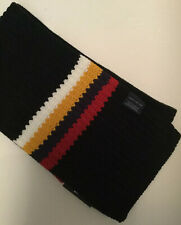 TOMMY HILIFIGER 100% Acrylic Knit Stripe Scarf (New With Tag)