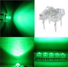 50 diodi led PIRANHA SUPERFLUX 5 mm VERDE resistenze NON INCLUSE