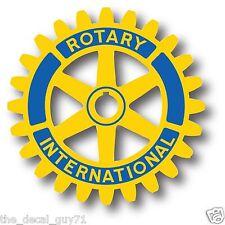 "Rotary Club Logo Car Truck Outdoor Decal Sticker 4"""