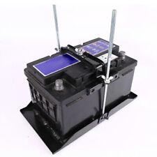 Adjustable Car Battery Mount Tray Battery Holder Base Bracket Clamp Kit Sturdy