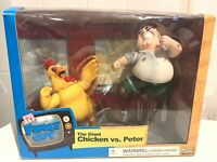 Family Guy Peter Griffin Vs. The Giant Chicken Deluxe Box Set MIB RARE Mezco Toy
