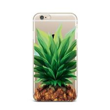 Pineapple Fruit Ultra Thin Rubber Gel Silicone Case For Apple iPhone 5 6 7 Plus