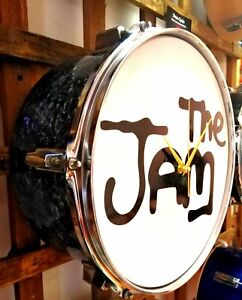 THE JAM - *UPCYCLED DRUM CLOCK*