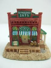 Dearly's Grocery Store Ah154 Liberty Falls Americana Collection 1998 Resin House