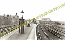 Etruria Railway Station Photo. Stoke on Trent to Hanley and Shelton Lines. (1)