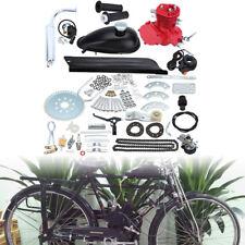 Red 2 Stroke 80cc Motorized Bike Bicycle Cycle Petrol Gas Engine Motor Kit