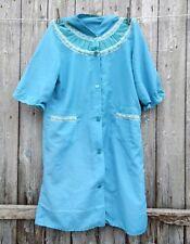 Vintage 1960s Ladies Babydoll Nightie Neglige Dorothy Perkins Medium 14 Blue