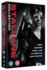 Stallone Collection Assassins Demolition Man Cobra Tango Cash Specialist R2 DVD