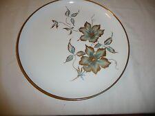 zierteller porzellan Alboth + Kaiser Goldrand Goldblumen 28 cm cm