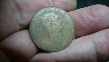 Duponius size Worn Unidentified Roman coin L473