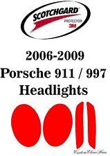 3M Scotchgard Paint Protection Film Clear 2006 2007 2008 2009 Porsche 991 / 997