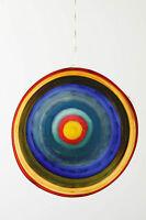 Large Ringed Suncatcher Ornament By Jim Loewer Anthropologie ~Handblown Glass