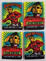 The Rocketeer Topps 1991 Lot of 4 (Four) Sealed Unopened Packs