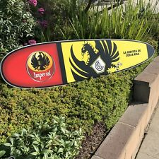 "Imperial Beer Cerveza Costa Rica Surfboard Bar Man Cave Mirror ""New"""