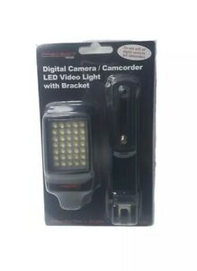Precision Design Digital Camera / Camcorder Led Video Light With Bracket-35 LEDS