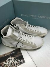 Stivaletto Philippe model paris PRHU V020 PRSX VEAU BLANC