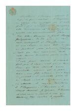 Alexandra Feodorovna (Charlotte of Prussia-Nicholas I) Autograph Letter - RARE!