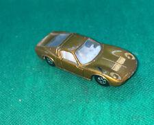 Matchbox Superfast 33 Lamborghini Miura Gold Vintage Car