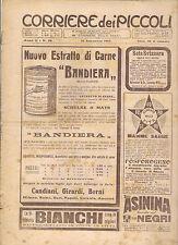 CORRIERE DEI PICCOLI 18 SETTEMBRE 1910 anno II NUMERO 38  CON SOVRACOPERTINA