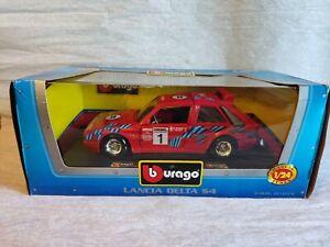 Burago Lancia Delta S4 Martini Sanremo N.1 cod.01015 Super Colletion scala 1:24