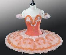 """Professional Classical Ballet Tutu Coppelia Peach Fairy """"Dawn"""" Costume MTO NEW"""