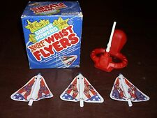 Vintage Wonder Woman Super Powers Nerf Wrist Flyer Superfriends Rare DC MIB 1983
