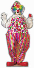 PARTY CLOWN - LIFESIZE CARDBOARD CUTOUT / STANDEE Birthday decoration