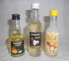 Lot de 3 mignonettes COCO Ananas Non Ouvertes CAMPENY / ISANTIER