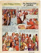 Bible Stories in Pictures #5 Part 4    February 24 1952     The Daughter of Jair