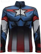 Spyder Kids Limitless Marvel Mid-Layer Top Thermal Shirt Sz.18(XL) NWT $75