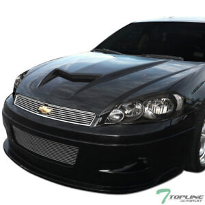 Topline For 2006-2016 Chevy Impala/Limited Black Housing Headlights Signal nb