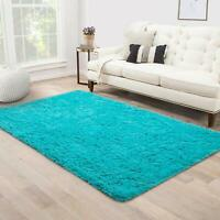 Soft Fluffy Thick Indoor Rug for Home Decor Living Room Bedroom 80*120cm